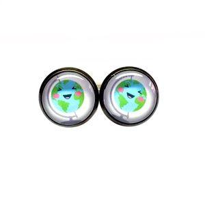 Cute Globe Earrings - Back to School